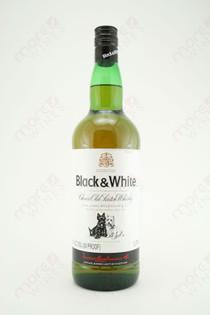 Black & White Choice Old Scotch Whisky 1L