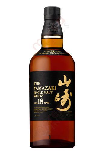 The Yamazaki 18 Year Single Malt Whisky 750ml