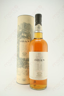 Oban West Highland Single Malt Scotch Whiskey 750ml