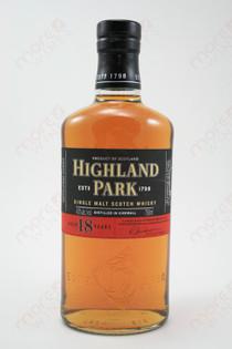 Highland Park 18 Year Single Malt Scotch Whisky 750ml