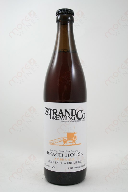 Strand Brewing Beach House Amber