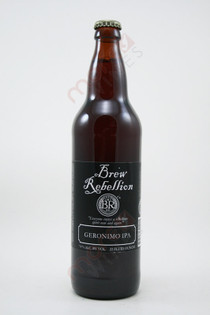 Brew Rebellion Geronimo IPA 22fl oz