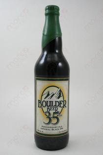 Boulder Beer 35th Anniversary Imperial Black IPA 22fl oz