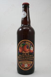 J.K.'s Northern Neighbour Farmhouse Cider 22fl oz