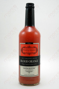 Powell & Mahoney Limited Blood Orange Cocktail mixer 750ml