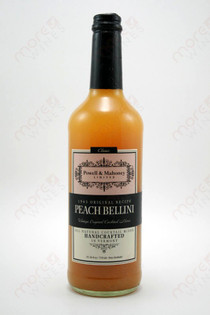 Powell & Mahoney Limited Peach Bellini Cocktail mixer 750ml