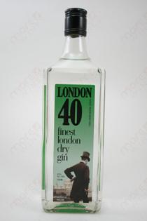 London 40 Gin 750ml