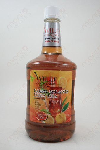 Premium blend wild cocktails long island iced tea 1 5l for Cocktail 5l
