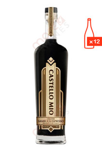Castello Mio Italy Sambuca Espresso Liqueur 750ml (Case of 12) FREE SHIP $13.99/Bottle