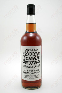 Stolen Coffee & Cigarettes Spiced Rum 750ml
