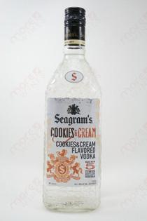 Seagram's Cookies & Cream Vodka 750ml