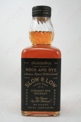 Slow & Low Whiskey 750ml