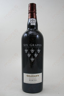 Graham's Six Grapes Reserve Port 750ml