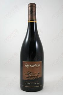 Rosenblum Petite Sirah 2008 750ml