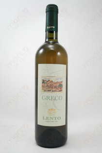 Greco Lento Dry White Wine 2007 750ml