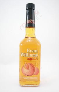 Evan Williams Peach Bourbon Whiskey 750ml