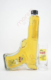 Bad Boyz Handgun and Shot Glass French Brandy XO  200ml