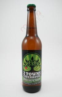 2 Towns Ciderhouse 'BrightCider' Hard Apple Cider 500ml