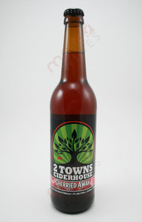2 Towns Ciderhouse 'Cherried Away' Cider 500ml