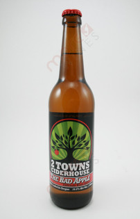 2 Towns Ciderhouse 'The Bad Apple' Cider 500ml