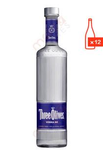 Three Olives Case 750ml