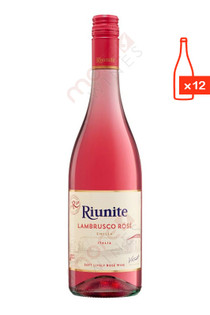 Riunite Lambrusco Rose Case