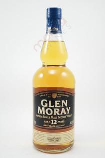Glen Moray 12 Year Old Single Malt Scotch Whisky 750ml