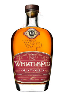 WhistlePig Farm Old World 12 Years Old Straight Rye Whiskey Rare