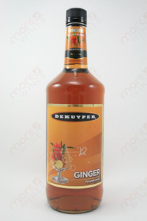 Dekuyper Ginger Flavored Brandy 1L