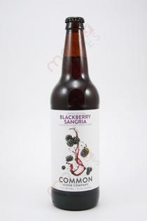 Common Cider Company Blackberry Sangria Apple Cider 22fl oz