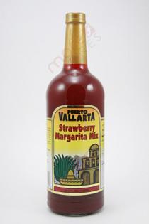 Puerto Vallarta Strawberry Margarita Mix 1L