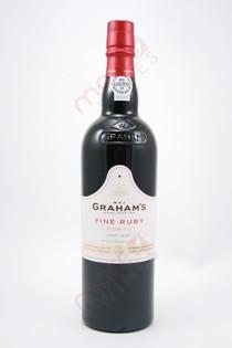 Graham's Fine Ruby Port 750ml