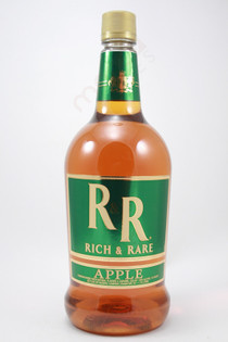 Rich & Rare Apple Flavored Whiskey 1.75L