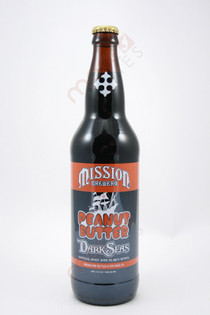 Mission Peanut Butter Dark Seas Imperial Stout 22fl oz