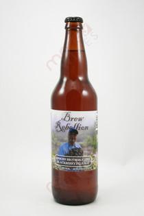 Brew Rebellion Emmons Brotherly Love Blackberry Pale Ale 22fl oz
