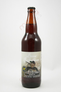 Brew Rebellion Emaqulit Blueberry Kush IPA 22fl oz