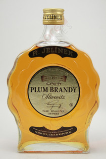R. Jelinek Slivovitz Gold Plum Brandy Aged 10 Years 750ml