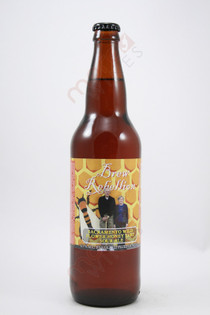 Brew Rebellion Sacramento Wild Flower Honey Tart Sour Ale 22fl oz
