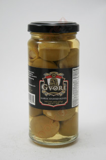 Gvori Garlic Stuffed Olives 8oz