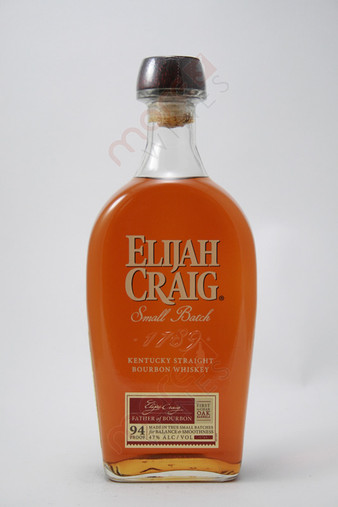 Elijah Craig 12 Year Old Small Batch Straight Bourbon Whisky 750ml