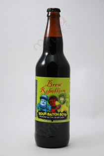 Brew Rebellion Sour Batch Boys Ale 22fl oz