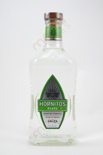 Hornitos Plata Tequila 1L
