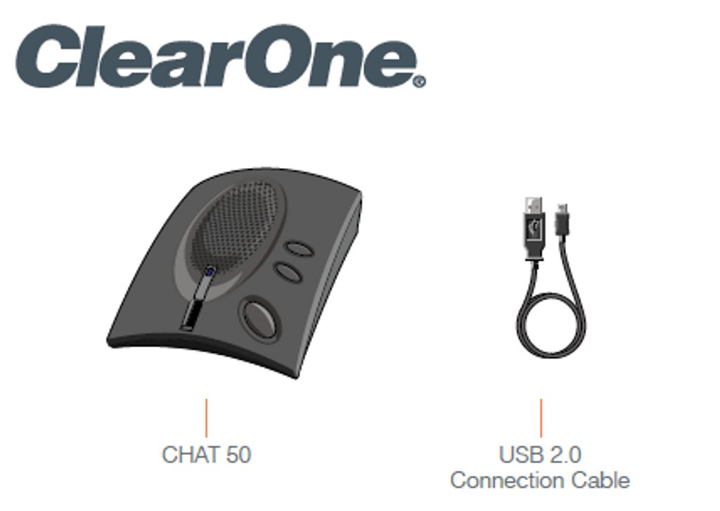ClearOne Chat 50 USB Personal USB Speakerphone