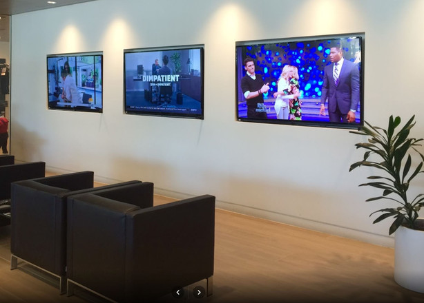 Displays througout Automotive dealership