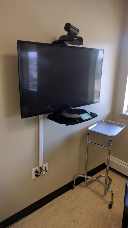 Remote Video Consultation in Health Clinic