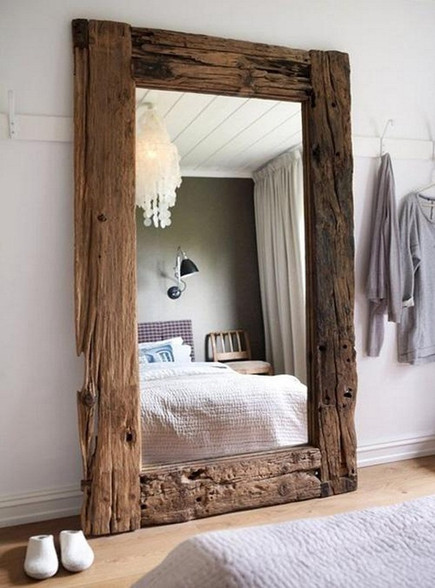 image 1 - Wood Framed Mirrors