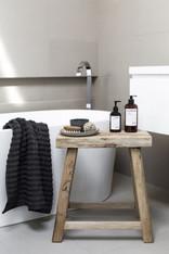 vintage wooden style  farm milking stool