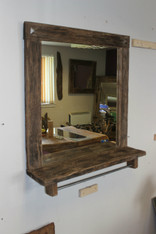 """Lancelot "" Barber Shop Mirror"
