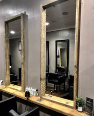 Revolution Barbershop salon mirror