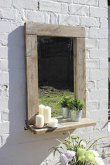Pacific Driftwood Mirror